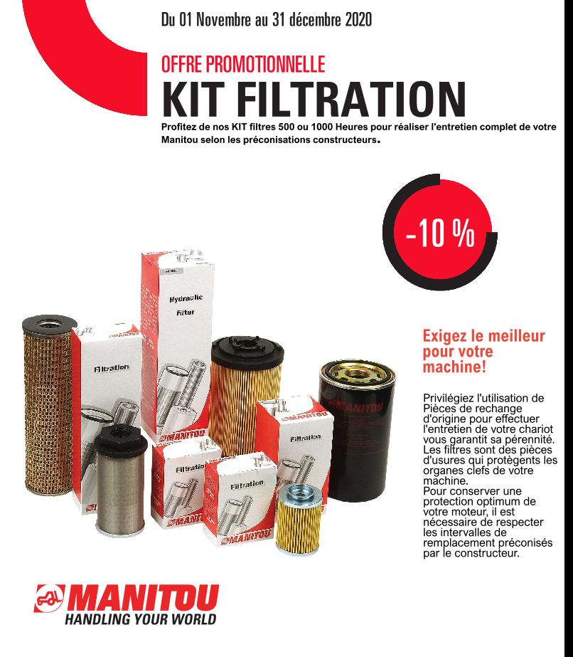 Offre spéciale : Kit Filtration