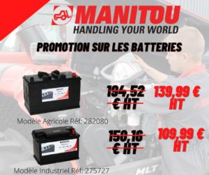 promo batteries Manitou